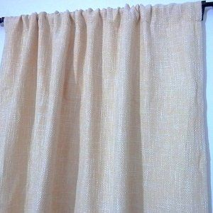 Other - 2 For $25 Pair Curtains Maize Color 36x80""